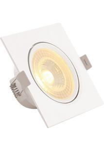 Luminária Spot Pp 8W 3000K - Startec - Branco