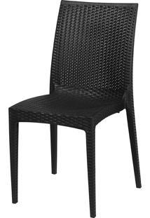 Cadeira Rattan S6380Y – Or Design - Preto