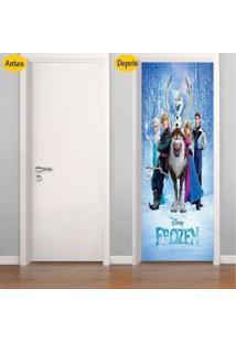 Adesivo De Porta Frozen