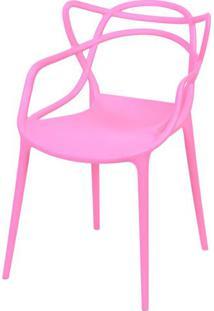 Cadeira Master Allegra Polipropileno Rosa - 43089 - Sun House