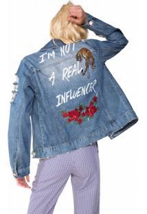 Jaqueta Jeans Influencer