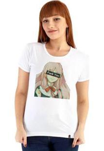 Baby Look Ouroboros Fvck Feminino - Feminino