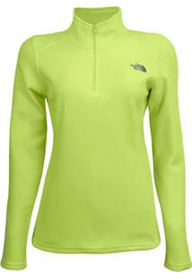 Blusa The North Face Feminino Tka Glacier Quarter Zip - Feminino