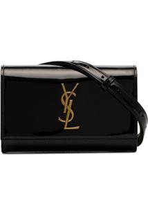 Saint Laurent Pochete Kate - Preto