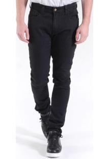 Calça Jeans Sl Fit Black Black Preto