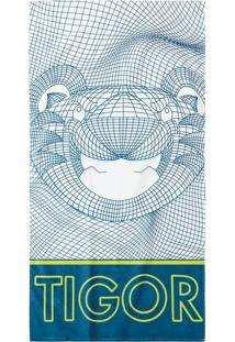 Toalha De Praia Tigor T. Tigre Azul