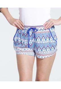 Pijama Feminino Short Floral Avulso Marisa