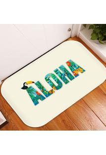 Tapete Decorativo Aloha ÚNico - Multicolorido - Dafiti
