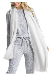 Pijama Longo Onça Mescla Malwee Liberta (1000052288)