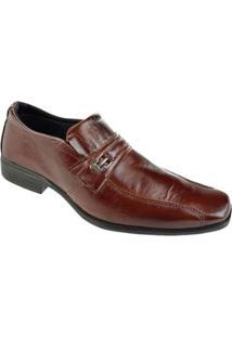 Sapato Social Cazzac Masculino - Masculino-Marrom