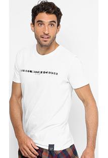 Camiseta Ellus Gola Careca Rebel Masculina - Masculino