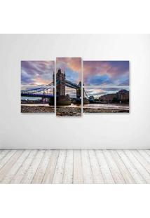 Quadro Decorativo - London - Composto De 5 Quadros - Multicolorido - Dafiti