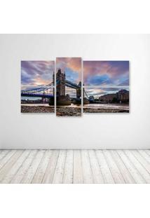 Quadro Decorativo - London - Composto De 5 Quadros