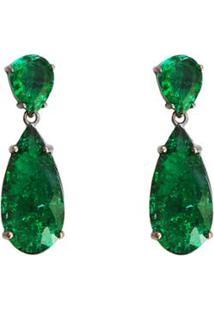 Brinco Ania Store Stirling - Feminino-Verde