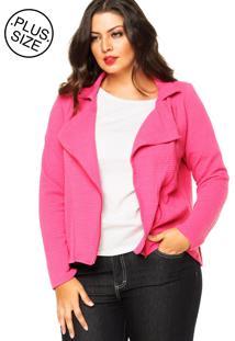 Jaqueta Rovitex Plus Textura Rosa