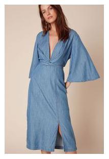 67fc246d2e Vestido Azul Premium feminino