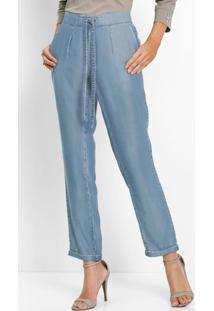Calça Jeans Comfort Azul Claro