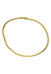 Pulseira Em Ouro 18K Grume Fio 50 20Cm - Ps20339 Dourado