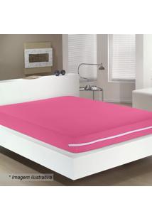 Capa Para Colchão De Casal- Pink- 30X138X188Cmbuettner