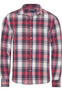 Camisa Masculina Kyle - Vermelho