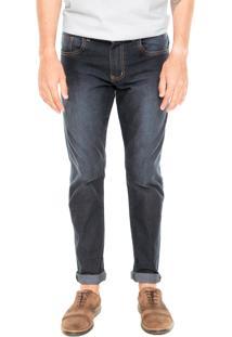 Calça Jeans Fiveblu Slim Aisle Azul