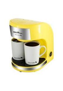 Cafeteira Britania Duo Coffee Amarela