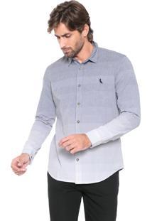 Camisa Reserva Reta Degradê Cinza