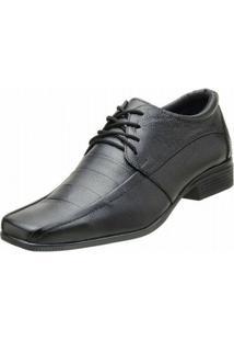 Sapato Topflex Social - Masculino-Preto