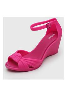 Sandália Melissa Nó Pink