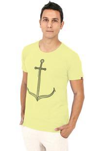 Camiseta Kahú Guardians Âncora Amarelo