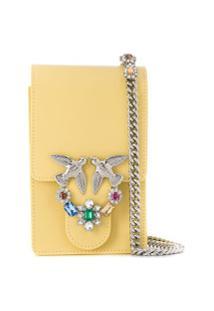 Pinko Love Smart Shoulder Bag - Amarelo