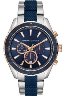 Relógio Armani Exchange Masculino Enzo Ax1819/1Kn Ax1819/1Kn - Masculino-Prata