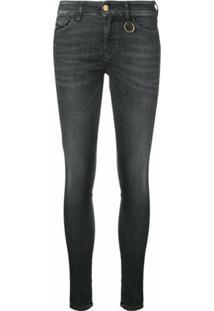 Diesel Calça Jeans Skinny 'Slandy' - Preto