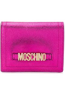 Moschino Carteira Mini - Rosa