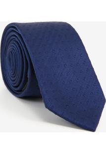 Gravata Slim Dark Blue