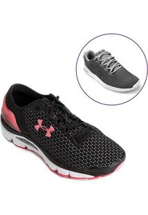 3493662de7ebe ... Kit Tênis Under Armour Charged Intake 2 Feminino+Tênis Under Armour  Ripple Sa Feminino*