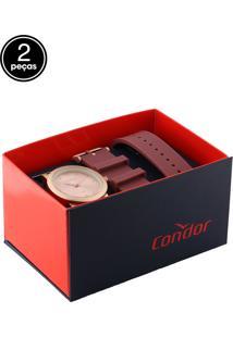 Relógio Condor Co2035Mqr/T8J Rosa/Roxo