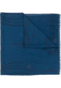 Etro Echarpe De Padronagem Paisley - Azul
