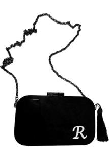 Bolsa La Madame Co Clutch All Black Personalizada