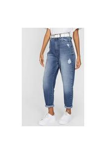 Calça Jeans Colcci Mom Zoe Azul
