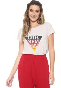 Camiseta Redley Off Duty Branca