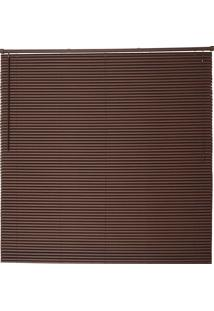 Persiana Wood Pvc 25Mm 100X220 - Evolux - Tabaco