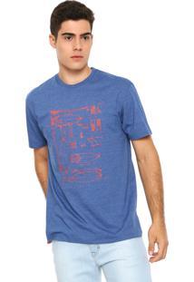 Camiseta Rusty Supply Azul