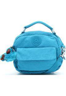 Bolsa Kipling Logo Azul