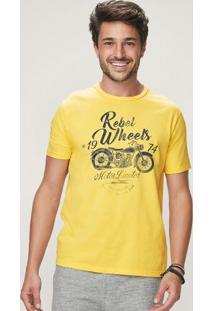 Camiseta Amarelo Malwee