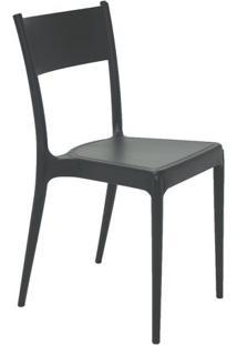Cadeira Diana- Cinza Escuro- 81X41,5X49Cm- Tramotramontina