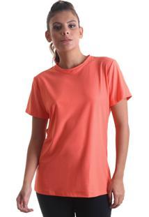 Camiseta Feminina Fresh Laranja Praaiah