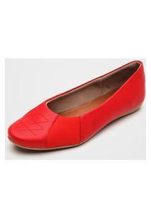 Sapatilha Usaflex Joanete Vermelha
