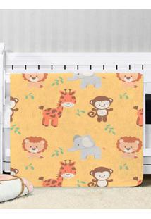 Cobertor Para Bebê Amarelo