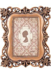 Porta Retrato Mart Decorativo Em Cobre De Poliresina 10X15